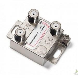 PARTITORE A 2 VIE CON CONNETTORE F - Fracarro 280701 PA2