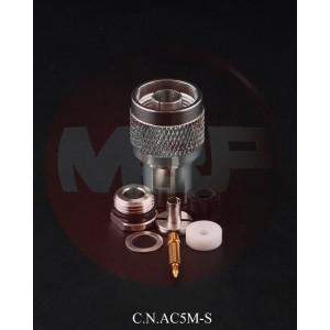 C.N.AC5M-S - Connettore N prof. cavi 5 mm AIRBORNE 5