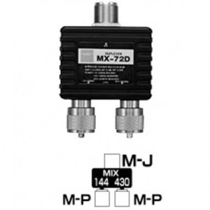 DIAMOND MX-72D Duplexer da 1,6 A 460 MHz