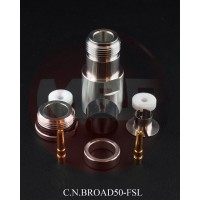 C.N.BROAD50-FSL Connettore N femmina senza saldatura