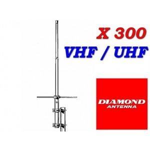 DIAMOND X300 N Antenna Verticale vhf-uhf