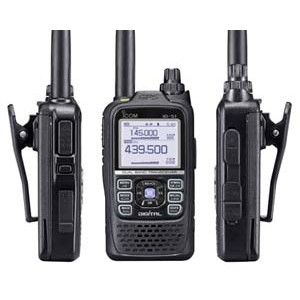 Icom ID-51E Plus 2 Ricetrasmettitore VHF/UHF D-Star con GPS integrato   Disponibile BLACK