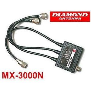 DIAMOND MX-3000N TRIPLEXER HF-VHF-SHF