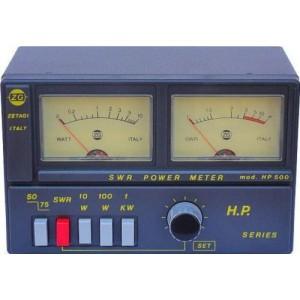 ROSMETRO WATTMETRO HP500 ZETAGI