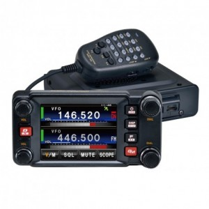 Yaesu FTM-400XDE ricetrasmettitore digitale C4FM/FM 144/430 MHz, Dual Band, 50 W